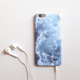 phone cover ocean sea water iphone 6 case iphone 6s iphone 6s case iphone 5 case blue tumblr blueish white cover music beach iphone cover iphone case light blue
