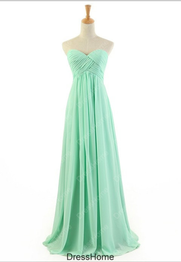 dress mint bridesmaid dress mint prom dress simple bridesmaid dress chiffon bridesmaid dress