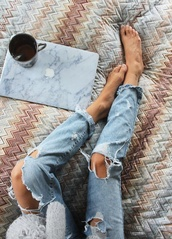 jeans,jewels,phone cover,ripped,destroyed boyfriend jeans,denim,ripped jeans,boyfriend,bedding,computer,computer accessory,computer case,marble