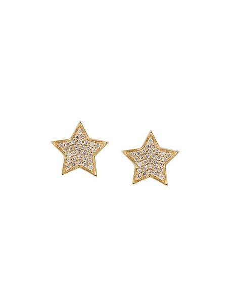 Alinka women earrings stud earrings gold yellow grey metallic jewels