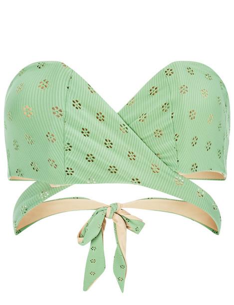 Lilliput & Felix bikini bikini top bandeau bikini mint green