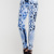 Buy Motel Jodie Cropped Skinny Jean in Gothic Placement Print at Motel Rocks
