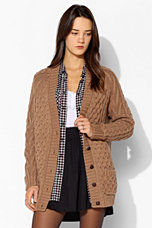 BDG Fisherman Cardigan - Urban Outfitters