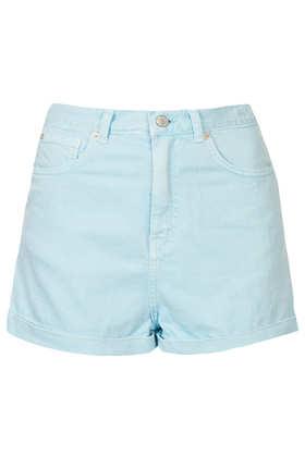 MOTO Denim Mom Shorts - Shorts - Clothing - Topshop