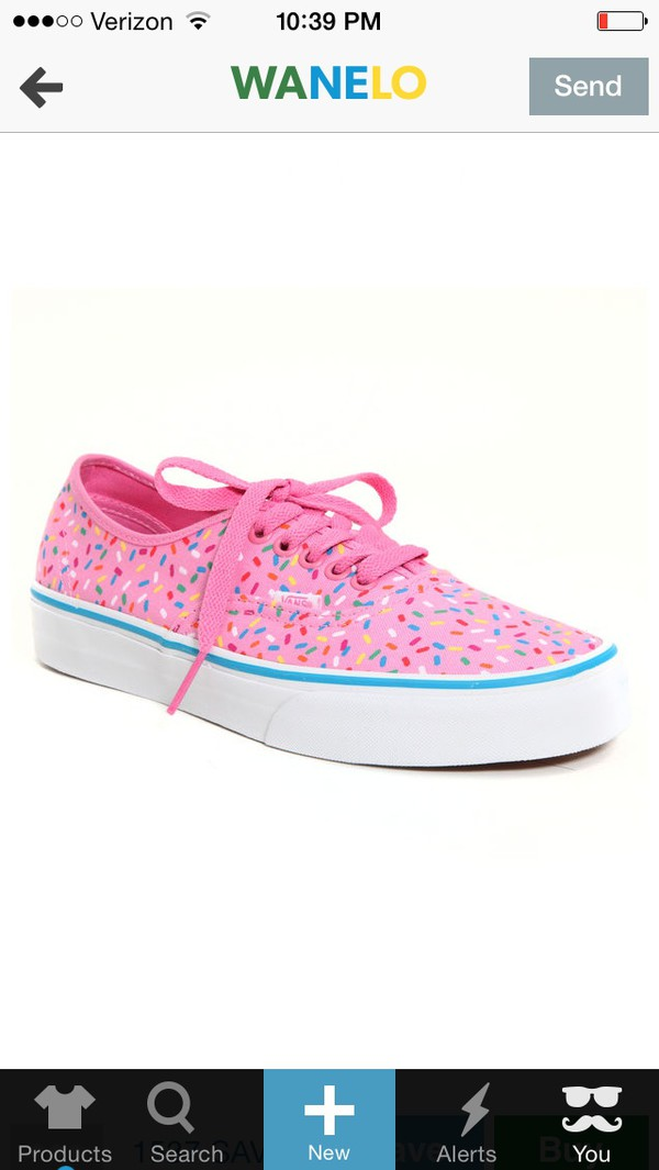shoes vans sprinkles