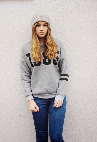 sweater weronika klonowska lookbook girl it girl shop