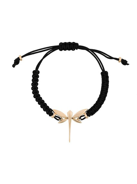 Anapsara rose gold rose women dragonfly gold black jewels
