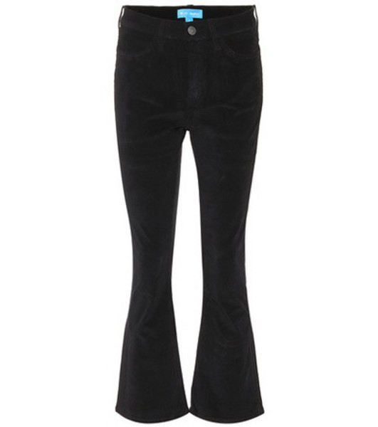 M.i.h Jeans Marty high-rise flared jeans in black
