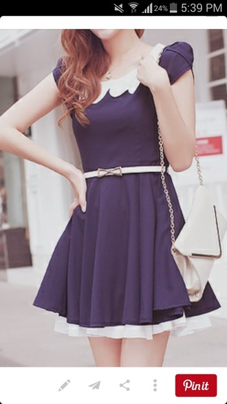 dress belt short lovely asian spring fall outfits navy