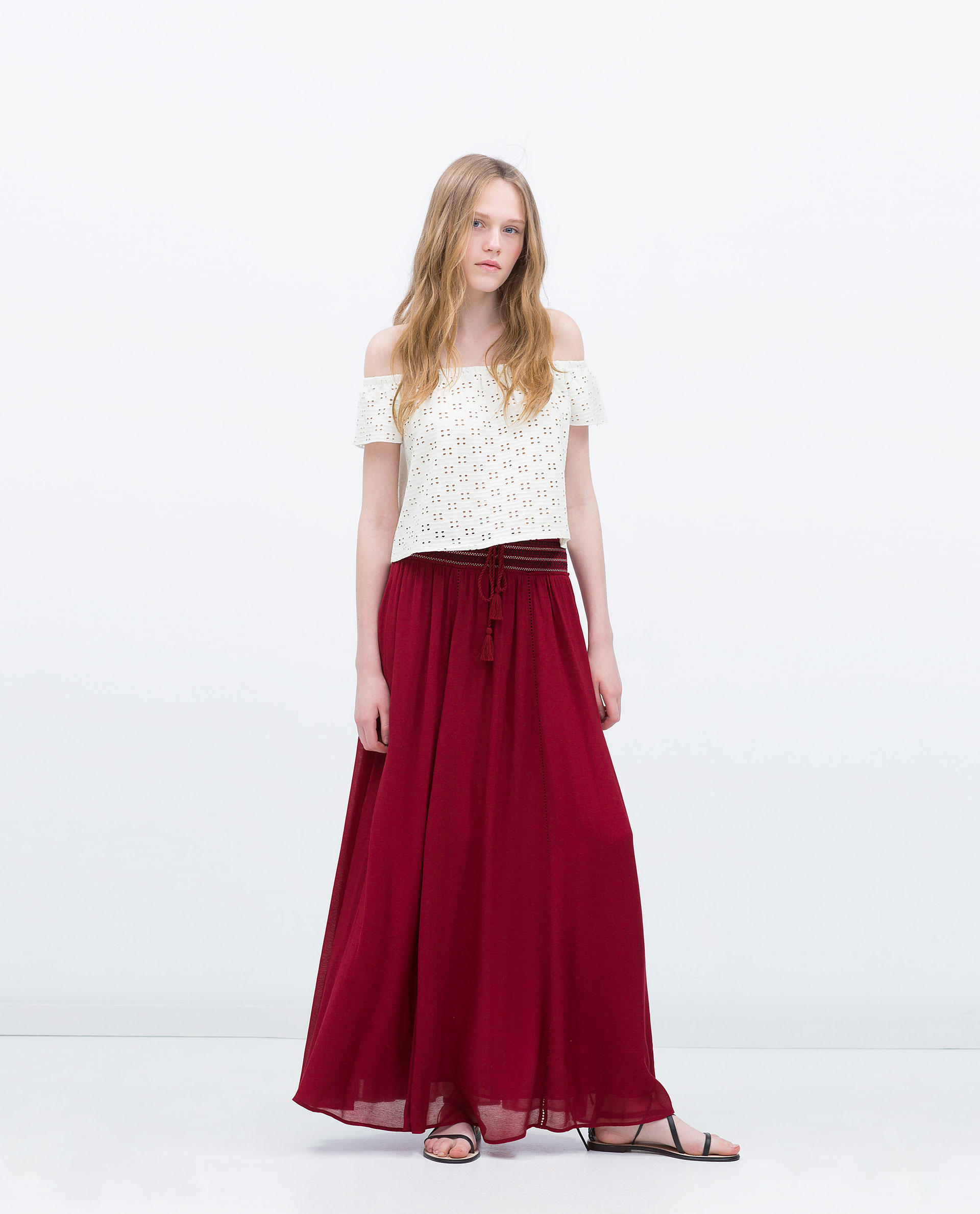 SKIRT - Maxi - Skirts - WOMAN | ZARA United Kingdom