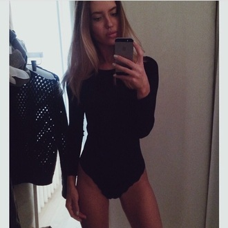 shirt bodysuit body black amazing cute georgeous perfect pinterest lovely dream want want want!
