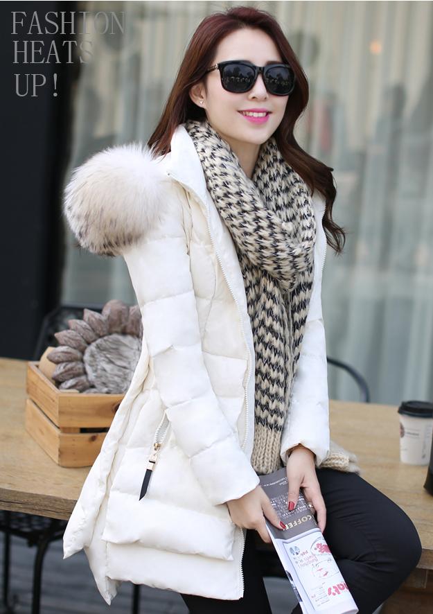 Barbie n dolly lens shop: long tailored puffer parka fur trimmed hooded coat