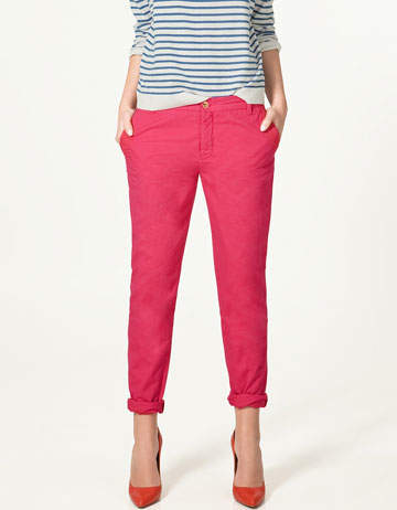 PANTALON CIGARETTE - Pantalons - Collection - Femme - ZARA France