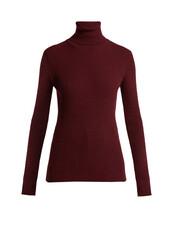 sweater,burgundy