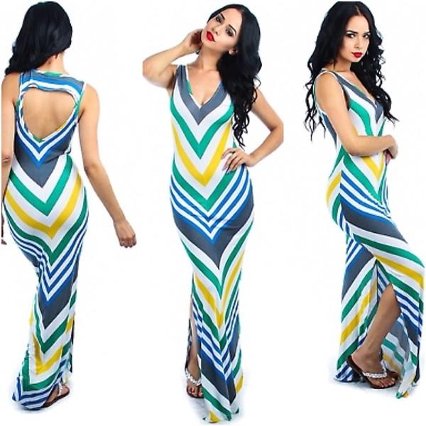 chevron maxi dress chevron dresses
