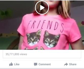 t-shirt cats friends