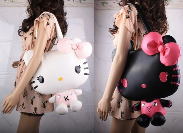 bag kawaii hello kitty style kawaii bag