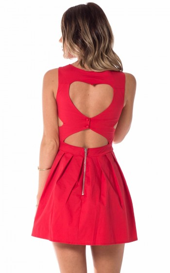 46cca0f690fdc Femme Fatale dress in red | SHOWPO Fashion Online Shopping