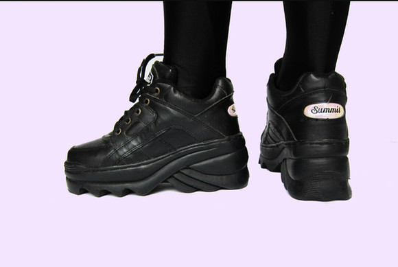 90s shoes platform sneakers sneakers chunky