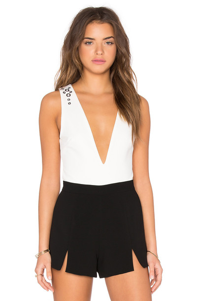 Oh My Love bodysuit white