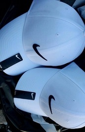 hat,cap,nike,white,sun
