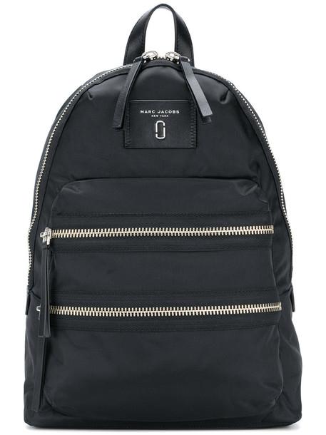 Marc Jacobs women backpack leather black bag
