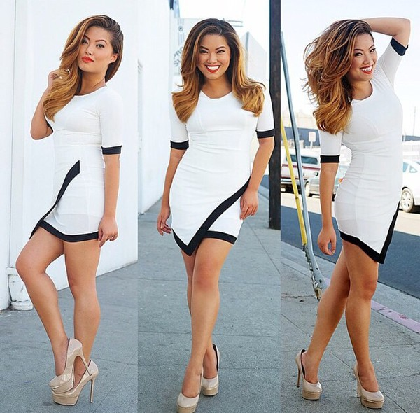 bodycon bodycon dress white dress black dress black bodycon dress black and white dress black white bodycon dress