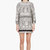 giambattista valli white embroidery print dress