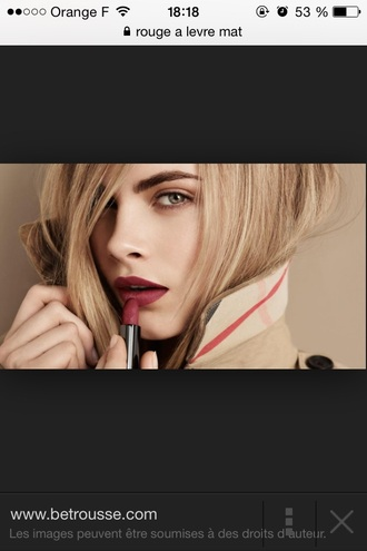 make-up lipstick blond hair green eyes red lipstick