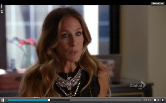 sarah jessica parker jewels glee