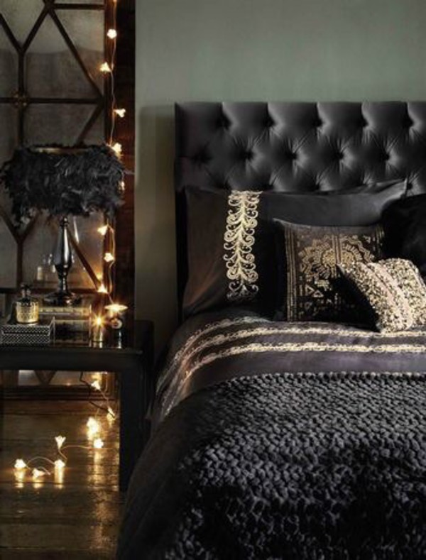 Dress home accessory beautiful bedding tumblr bedroom for Dramatic beds