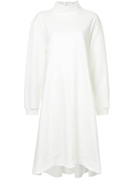 Irene dress sweater dress women white cotton