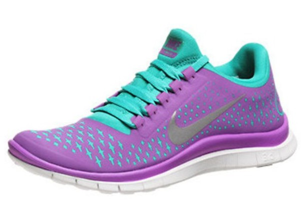 pink and purple nike running shoes memes