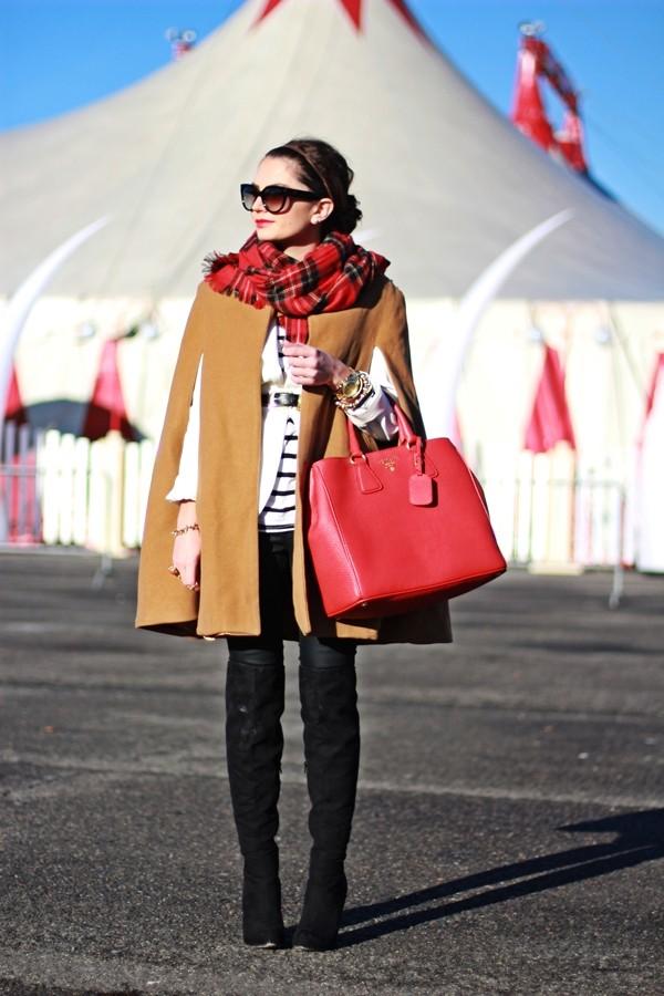 fashionhippieloves jacket shirt pants belt scarf bag jewels sunglasses camel poncho