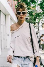 top,tumblr,hoodie,white hoodie,sunglasses,white sunglasses,bag,chloe,chloe bag,black bag