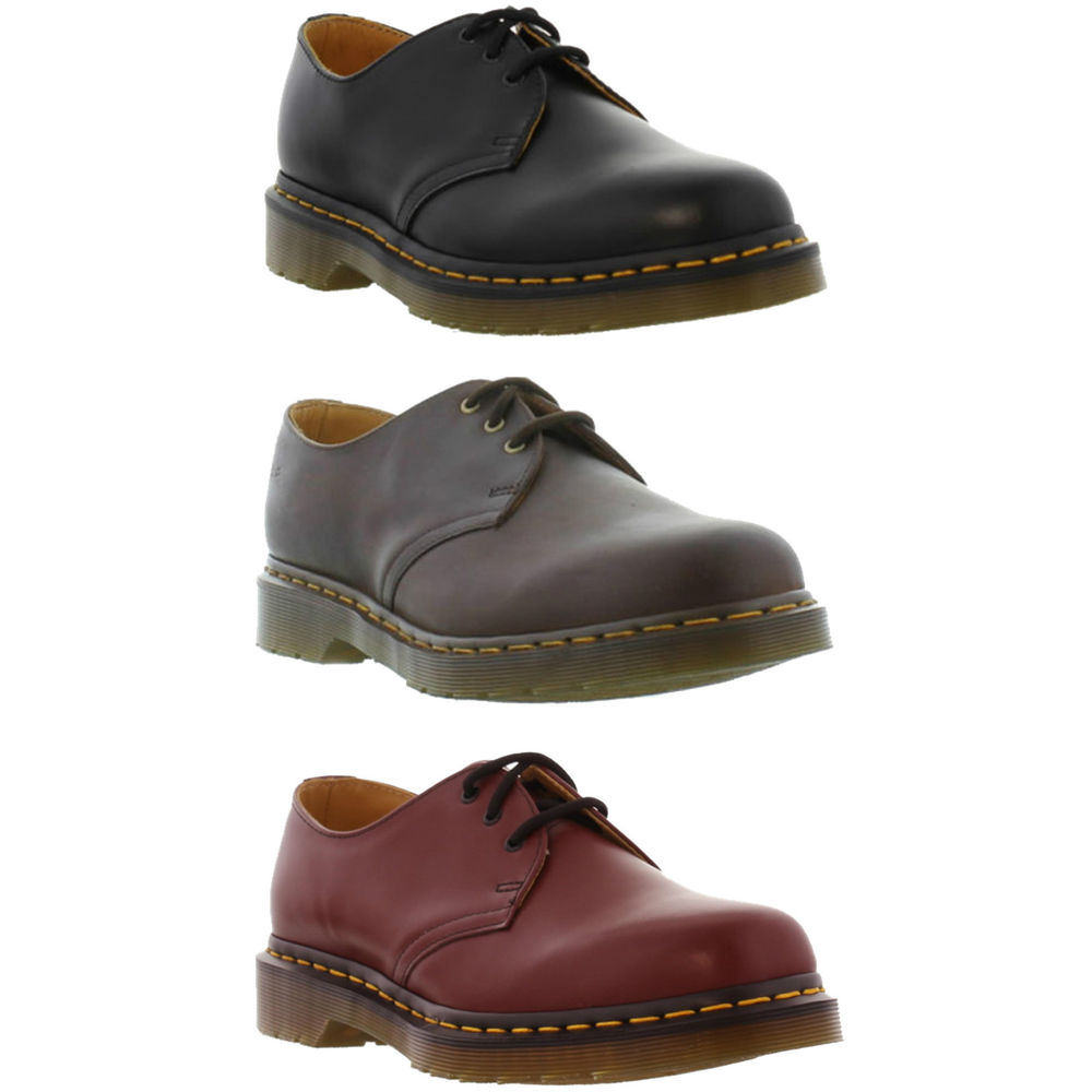 new dr martens 1461z mens womens ladies shoes size uk 4 13. Black Bedroom Furniture Sets. Home Design Ideas