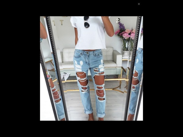 Be·Ripped - 90's Distressed Boyfriend Jeans - Low Rise - Lee ...