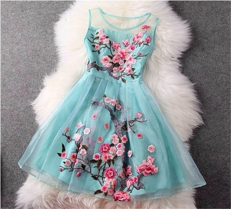 dress embroidered bridesmaid holiday dress birthday dress shoes romantic summer dress cherry blossom blue dress floral pink floral dress blue skirt blouse turquoise prom dress green dress turquoise dress flowers blue party dress