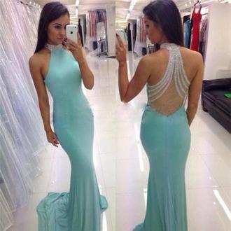 dress dressesofgirl prom dress blue prom dress royal blue prom dress long prom dress prom dresses 2017 mermaid prom dress beading prom dresses high neck prom dresses sleeveless prom dress