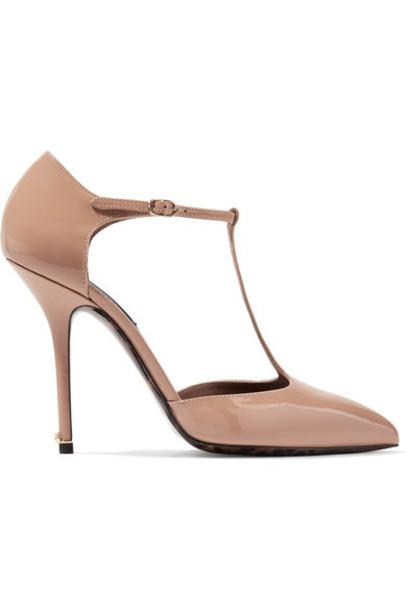 Dolce & Gabbana pumps leather shoes