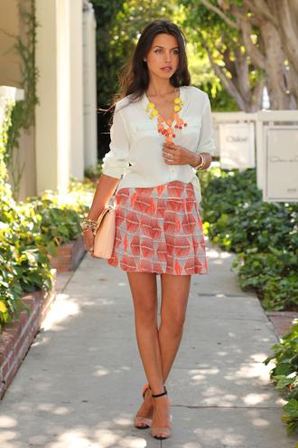 viva luxury jewels blouse shorts shoes bag