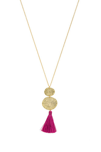 necklace pendant metallic gold jewels