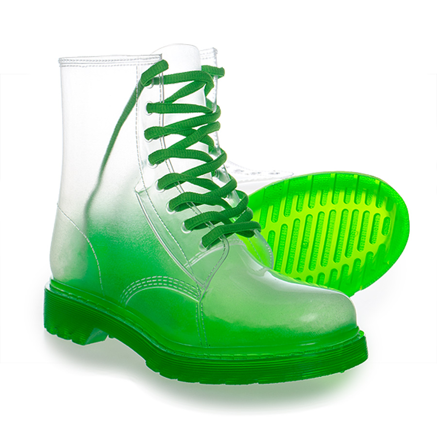 Blue Banana Clear Boot (Green) | Blue Banana UK