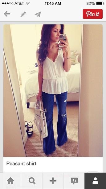 blouse boho
