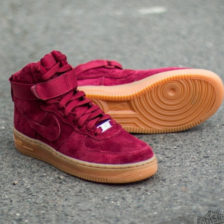nike air force red wine