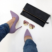 shoes,cicihot,heels,high heels,pumps,pointed pumps,classic pump,pointed toe,lavender pumps,lilac pumps,chic,girly sexy