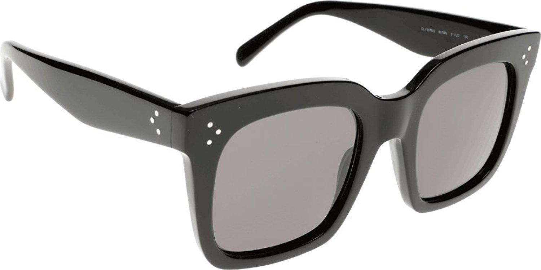 Amazon.com: Celine Sunglasses CL 41076/S Sunglasses 807BN Black 51mm: Celine: Clothing