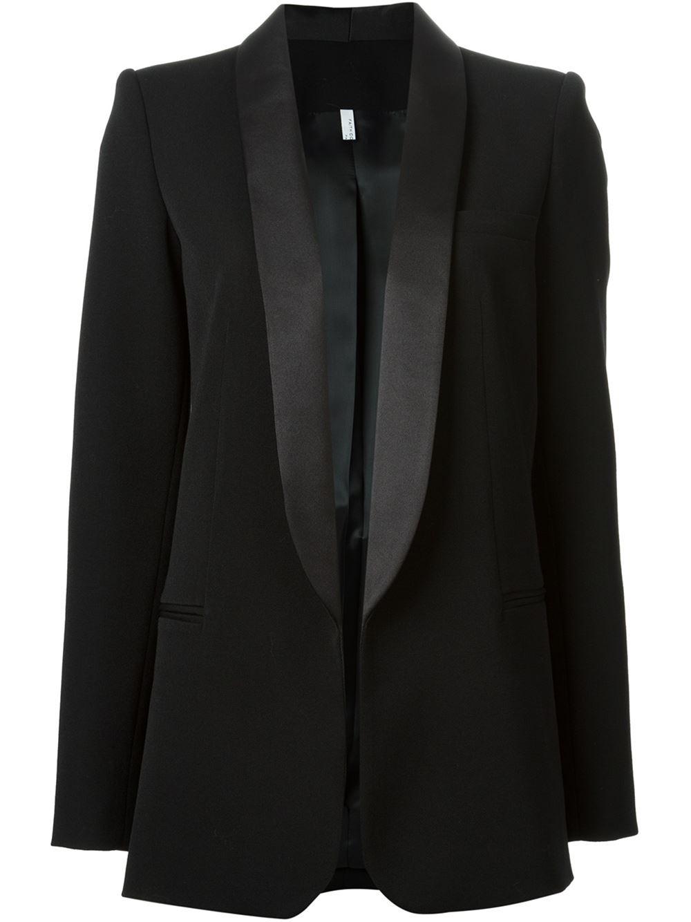Faith connexion shawl collar blazer