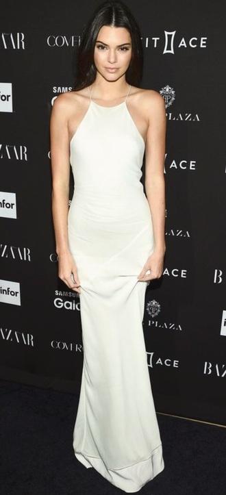 dress kendall jenner white dress