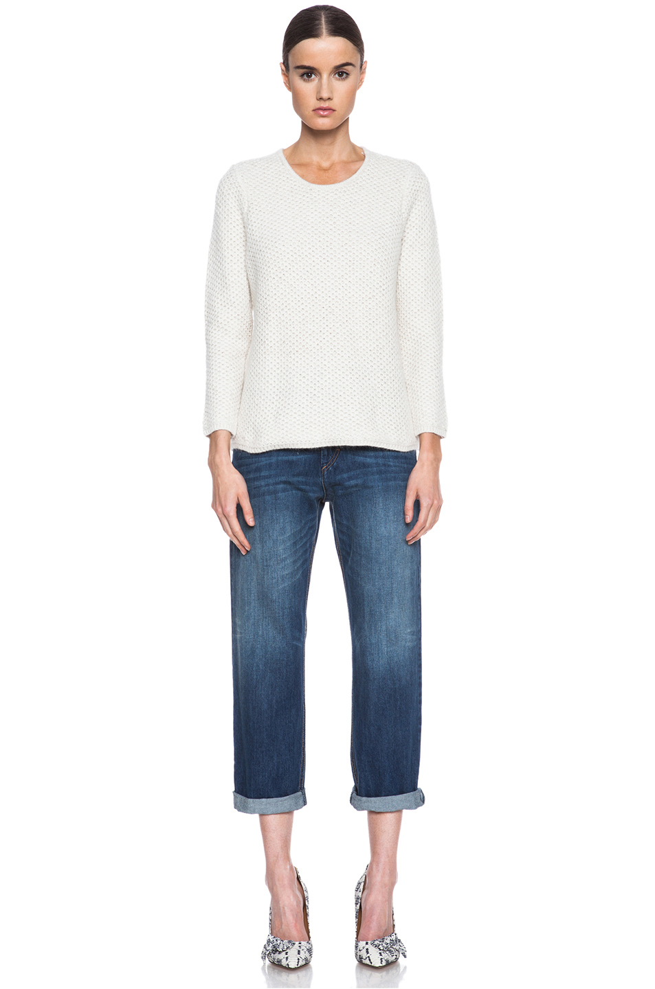 Isabel Marant|Isaac Knit Sweater in Ecru